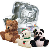 Wilton Stand Up Cuddly Bear Pan