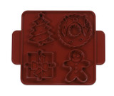 Nordic Ware Christmas Cookie Cutter Plaque