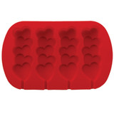 Wilton Stacked Hearts Silicon Mould