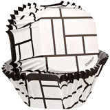 Wilton Black & White Block Square Cups