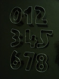 Number Cutter Set