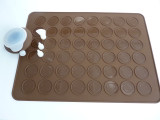 silicone Macaroon Baking Mat and Pen