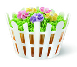 Wilton White Picket Fence Cupcake Wraps