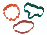 Wilton 3 Piece Jungle Pals Cookie Cutter Set