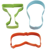 Wilton 3 Piece Summer Cookie Cutter Set