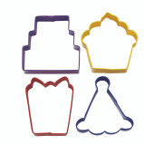 Wilton 4 Piece Party Cookie Cutter