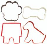 Wilton 4 Piece Pets Cookie Cutter Set