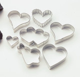Wilton Hearts Metal Cutter Set