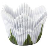 Wilton White Rose Petal Baking Cups