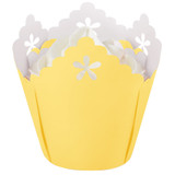Wilton Yellow Flower Pleated Baking Cups
