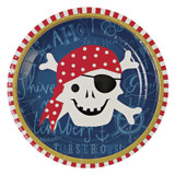 Meri Meri Ahoy There Pirate Plates