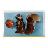 Meri Meri Squirrel and Nut Cookie Cutters