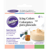 Wilton Pastel Icing Color Set