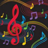 Musical Notes Napkins