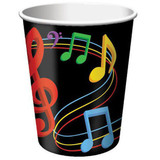 Musical Notes Party Cups