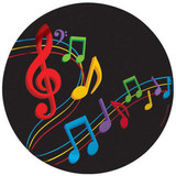 Musical Notes Party Plates