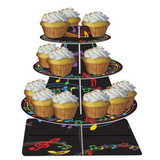 Musical Notes Cupcake Stand
