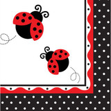 Lady Bug Napkins