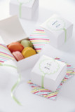 Martha Stewart Modern Festive White Treat Box