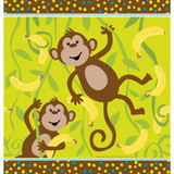 Monkeyin Around Plastic Tablecover