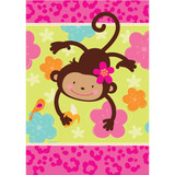 Monkey Love Paper Tablecover