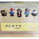 Pirate Party Candles