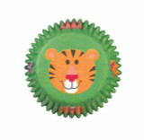 Jungle Animals Mini Baking Cups