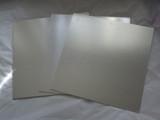 13 inch Masonite cake board Square - Silver