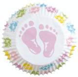Wilton Standard Baby Feet Baking Cups