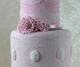 Tiffany 3D Cake Lace Mat - by Claire Bowman