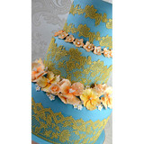 Eternity 3D Cake Lace Mat - by Claire Bowman