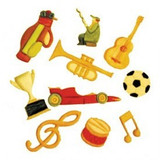 FMM Music & Sports Tappits Set - Set of 10