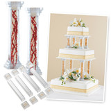 Wilton 6 Inch Fillable Pillar Set