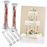 Wilton 6 Inch Fillable Pillar Set
