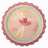 Meri Meri Little Dancers Ballet Plate