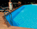 8.1m x 4.6m GardiPool Stretched Octagon/ Oblong