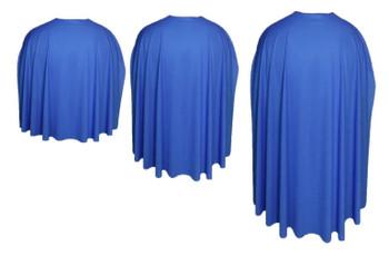 Royal Blue  Custom Made Super Hero Cape Fancy Dress Accessory