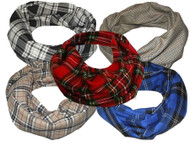 Burns Night Scottish Gentleman  Tartan Warm Neck Scarf Snood