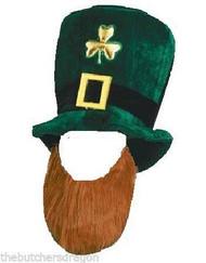 Irish Leprechaun Hat & Beard