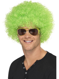 Green Afro Wig St Patricks Day