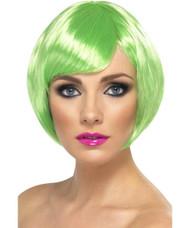 Green Babe Wig St Patricks Day