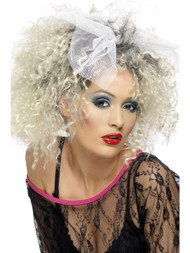 1980s Singer Punk Wild Child Party Wig Fancy Dress Party Band Idea UK