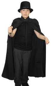 The Dragons Den Childrens Jack The Ripper Fancy Dress Costume Kids Age 8-12
