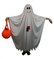 The Dragons Den Childrens Friendly Ghost Fancy Dress Costume Kids Age 8-12