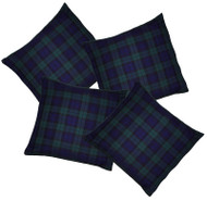 Blackwatch Blue/green Tartan Cushion Cover/Covers Burns Night Christmas