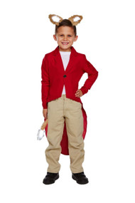 Childrens Age 4 - 12 Fantastic Mr Fox Book Week Fancy Dress Up Costume