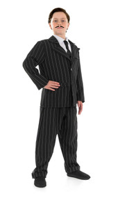Childrens Gomez Addams Fancy Dress Childs Adams Family Book Week Costume