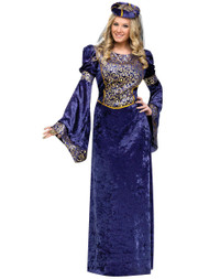 Deluxe Ladies Renaissance Maiden Cosplay Fancy Dress Costume