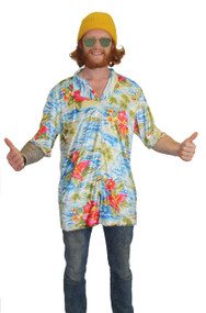 The Dragons Den Hawaiian Surfer Shirt One Size Stoner Fancy Dress Accessory