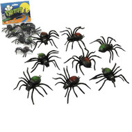 Spiders pack of 8 Scary Creatures Halloween Toy Prop Accessorize
